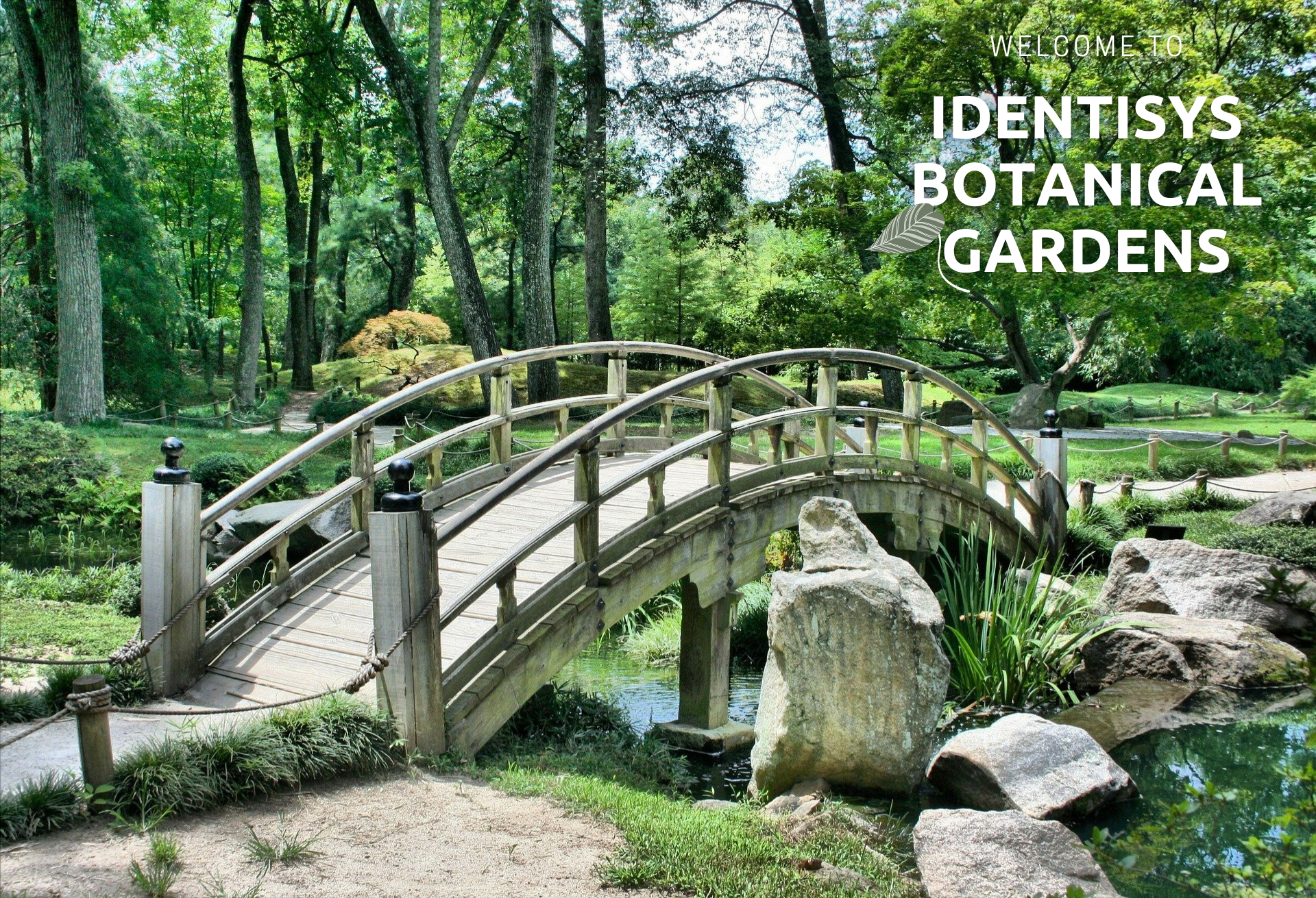 Welcome to Identisys Botanical Gardens
